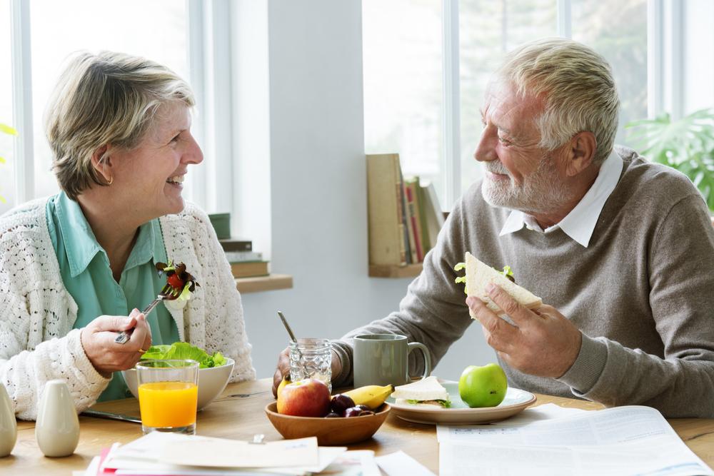 alimentação do idoso